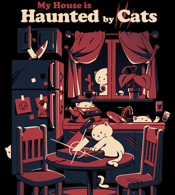 teeVillain: Cat Haunting