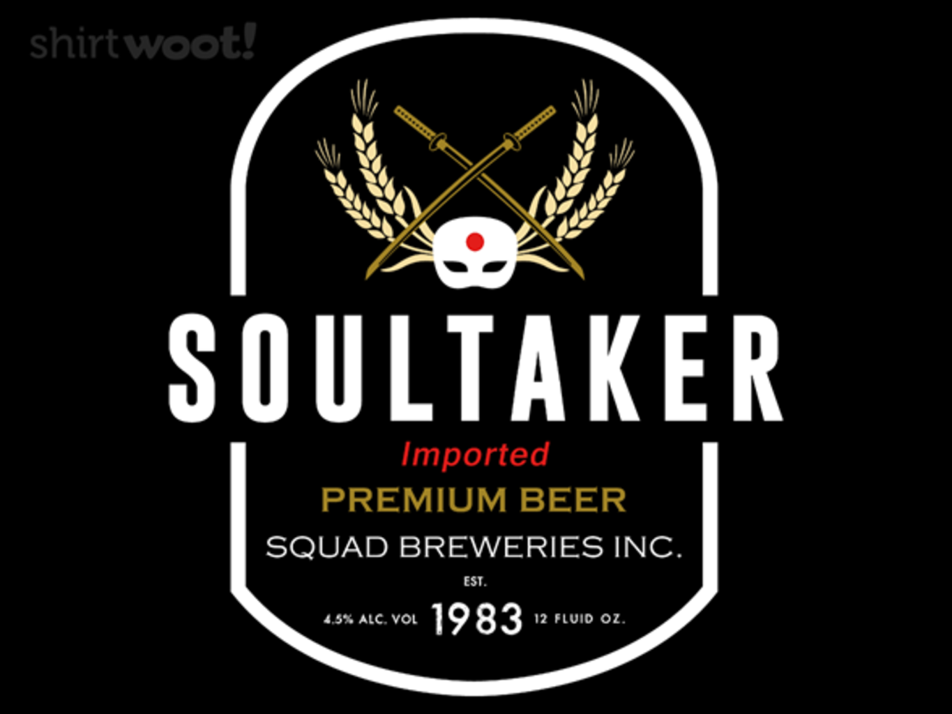 Woot!: Soultaker - Squad Breweries - $7.00 + $5 standard shipping