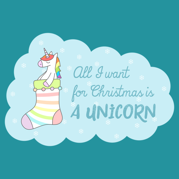 NeatoShop: All I Want for Christmas Is A Unicorn