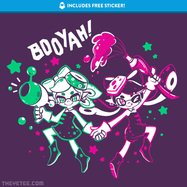 The Yetee: BOOYAH Sisters