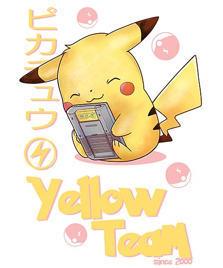 Qwertee: Yellow Team