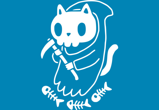 Design by Humans: Reaper Cat