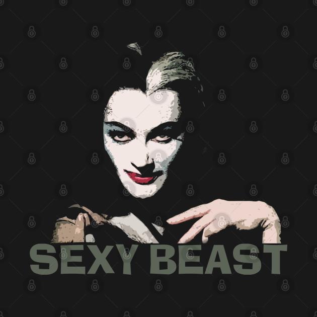 TeePublic: Lily Munster Sexy Beast