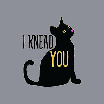 BustedTees: I Knead You Cat