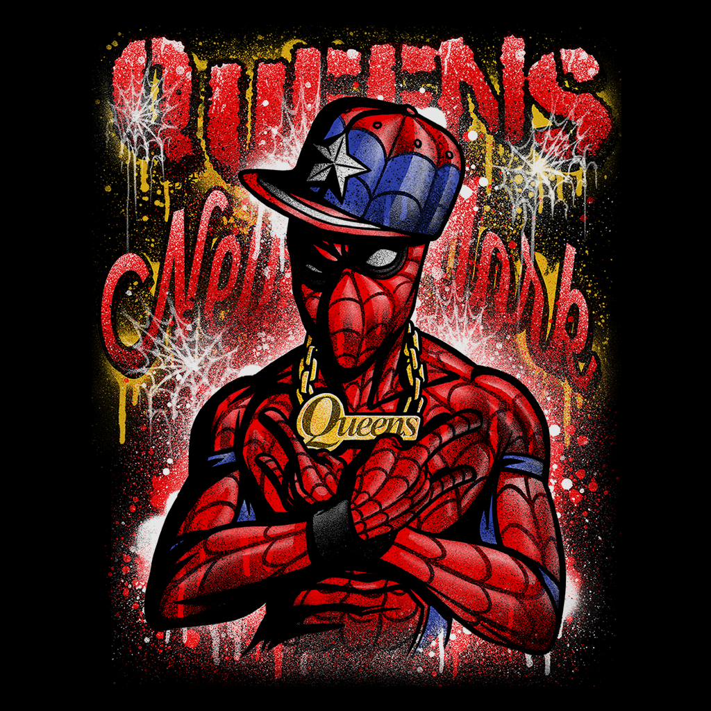Pop-Up Tee: Spidey Queens