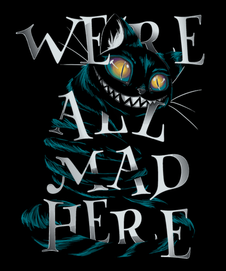 Qwertee: Mad Cat