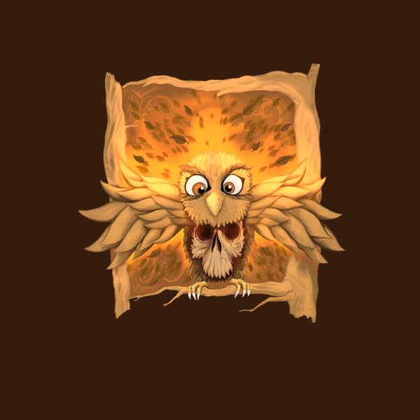 NeatoShop: Cute Skull Owl