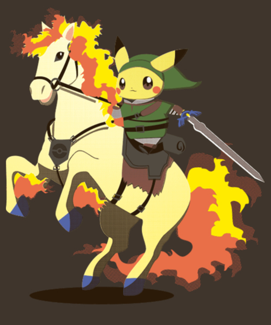 Qwertee: The Legend of Pika