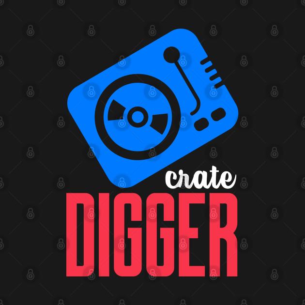 TeePublic: crate digger