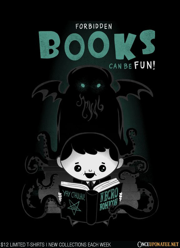 Once Upon a Tee: Forbidden Books are Fun