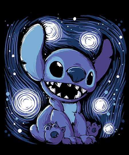Qwertee: Starry Stitch
