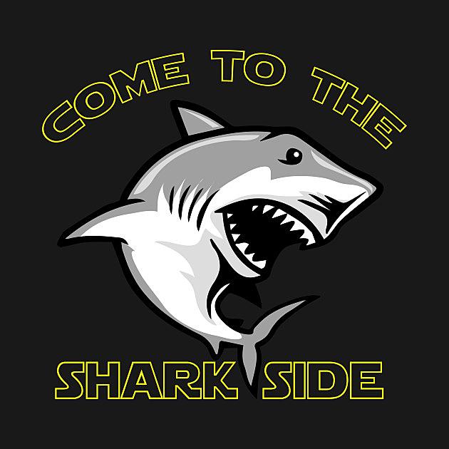 TeePublic: Come To The Shark Side - Shark Funny