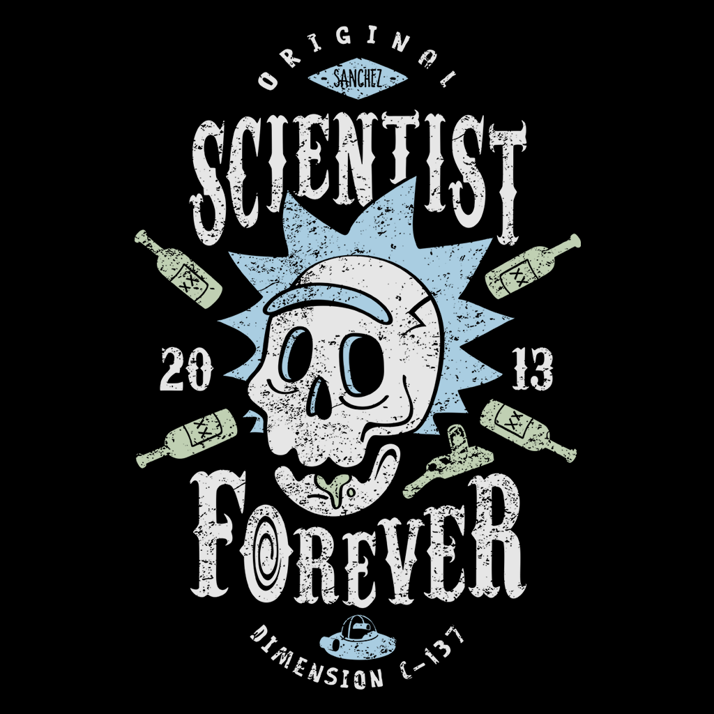 Pop-Up Tee: Scientist Forever