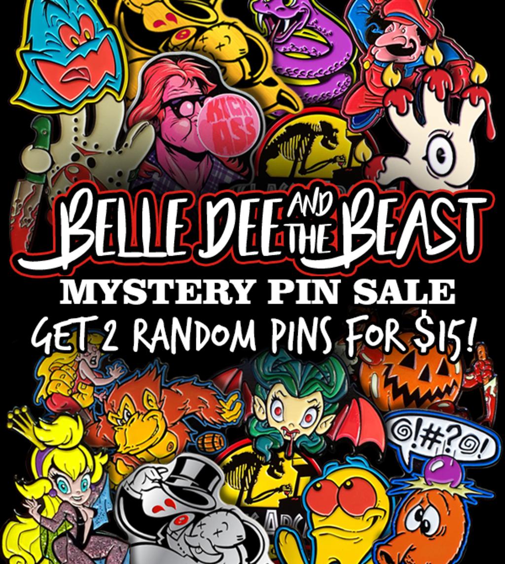 teeVillain: Belle Dee and the Beast