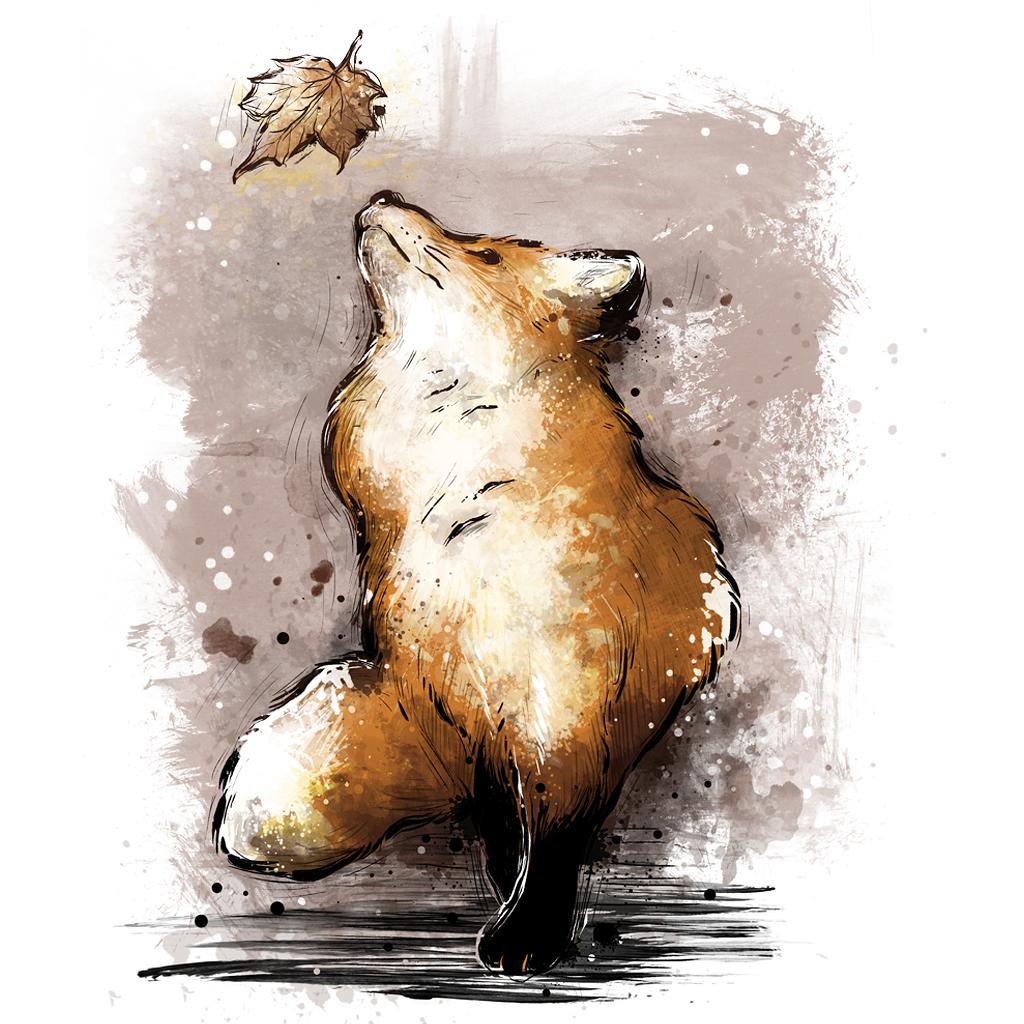 TeeTee: Autumn Fox