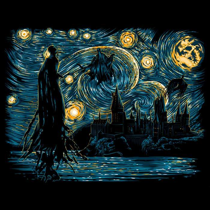Once Upon a Tee: Starry Dementors