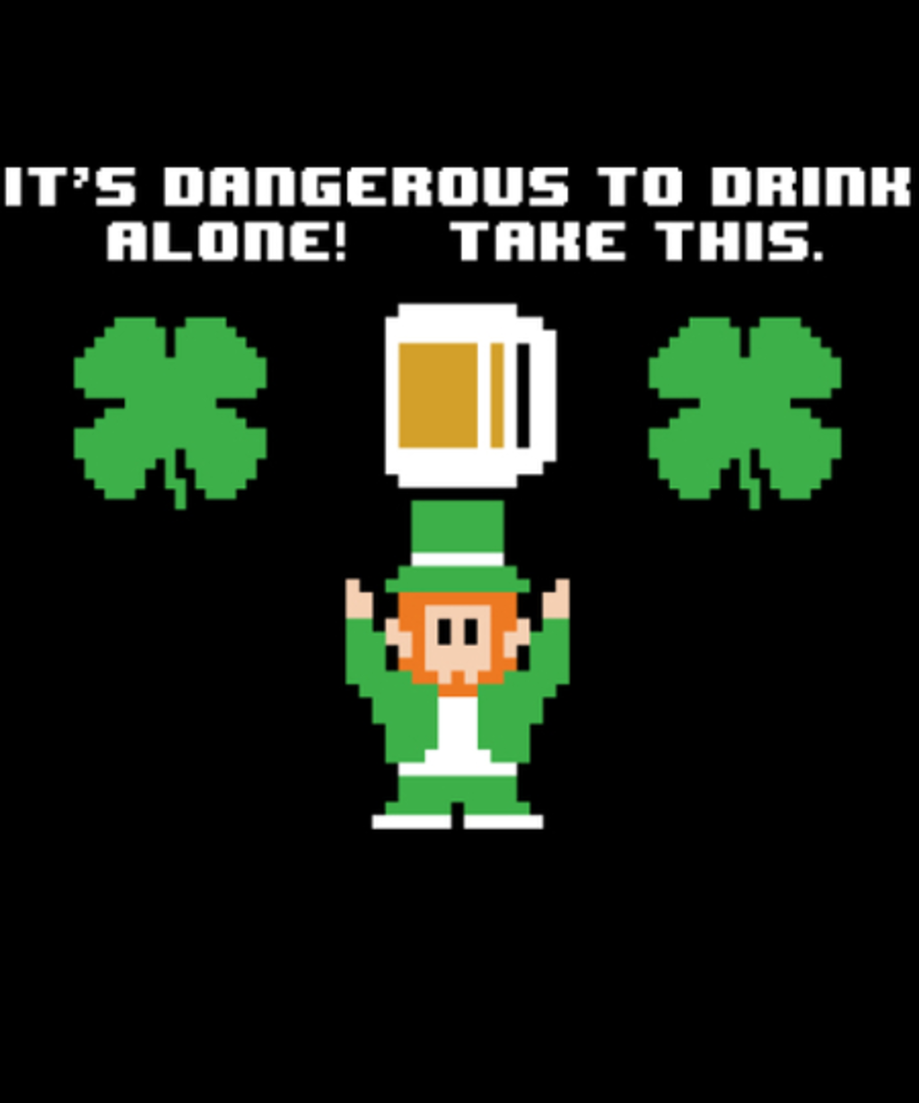 Qwertee: Don't Drink Alone