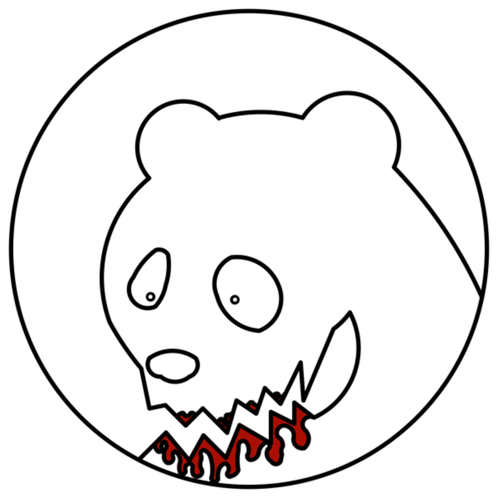 NeatoShop: Funny Blood Bear