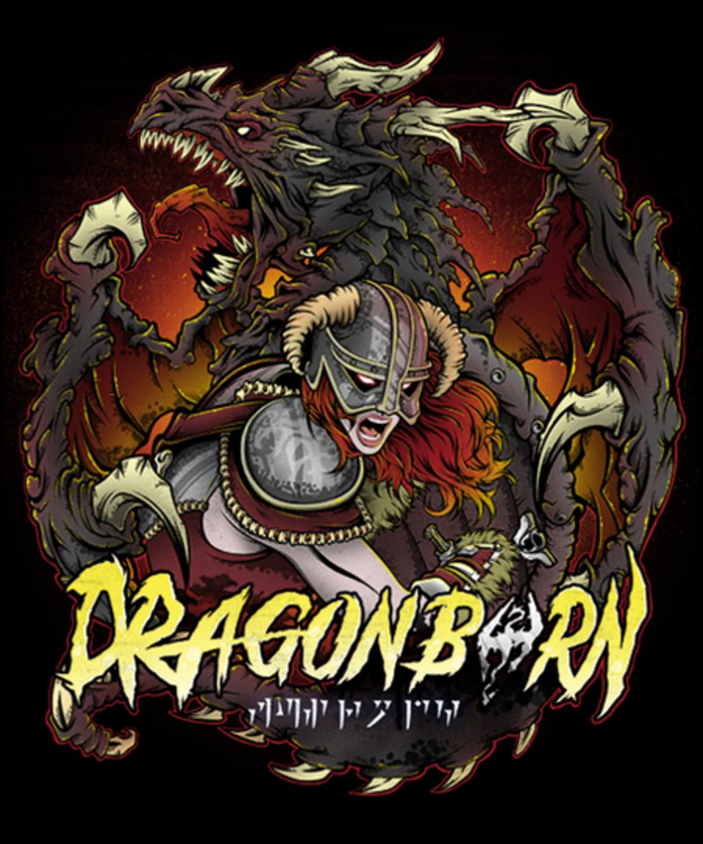 Qwertee: Dragonborn