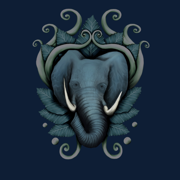 NeatoShop: Wild Elephant in the Jungle
