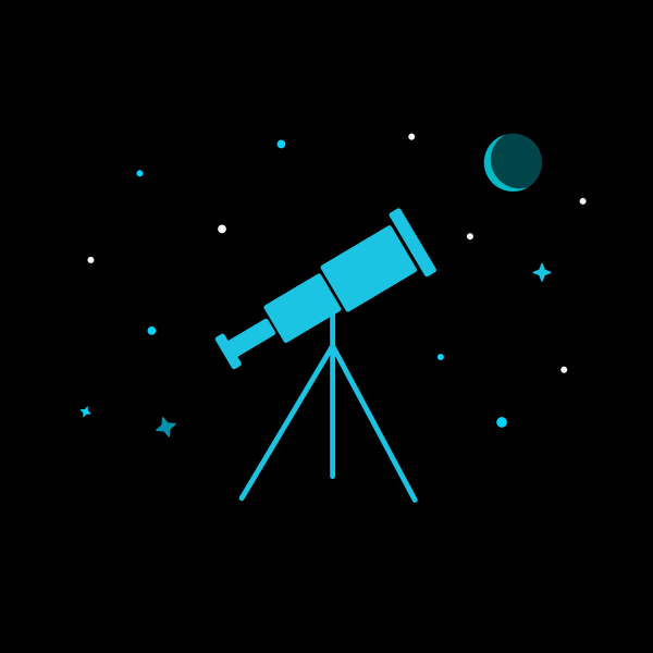 NeatoShop: Telescopes and the milky way