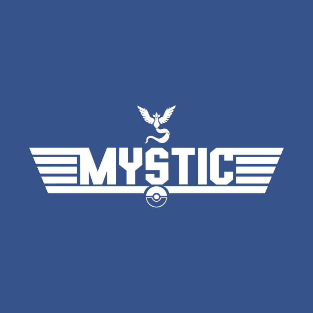 TeePublic: Top Gun Team Mystic (White) T-Shirt