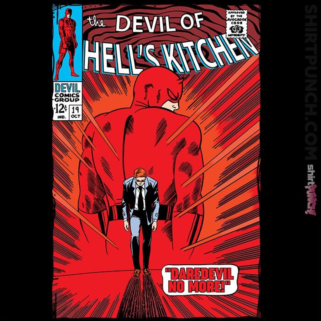 ShirtPunch: Daredevil No More!