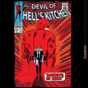 ShirtPunch: Daredevil No More!