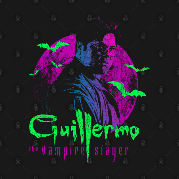 TeePublic: Guillermo the Vampire Slayer
