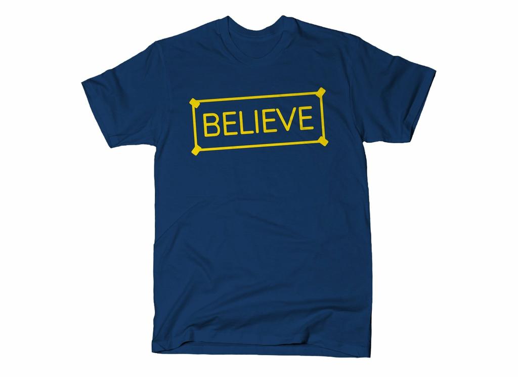 SnorgTees: Believe Sign