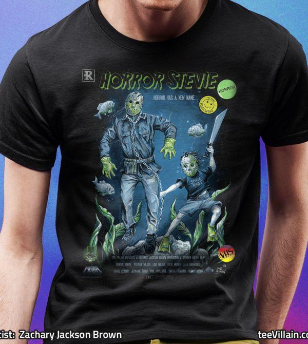 teeVillain: Horror Stevie