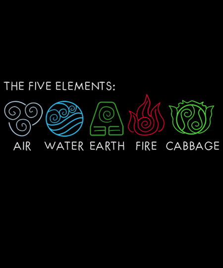 Qwertee: The Five Elements