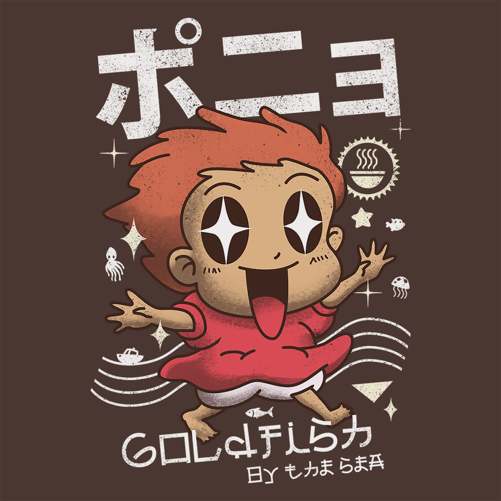 Pop-Up Tee: Kawaii Gold Fish