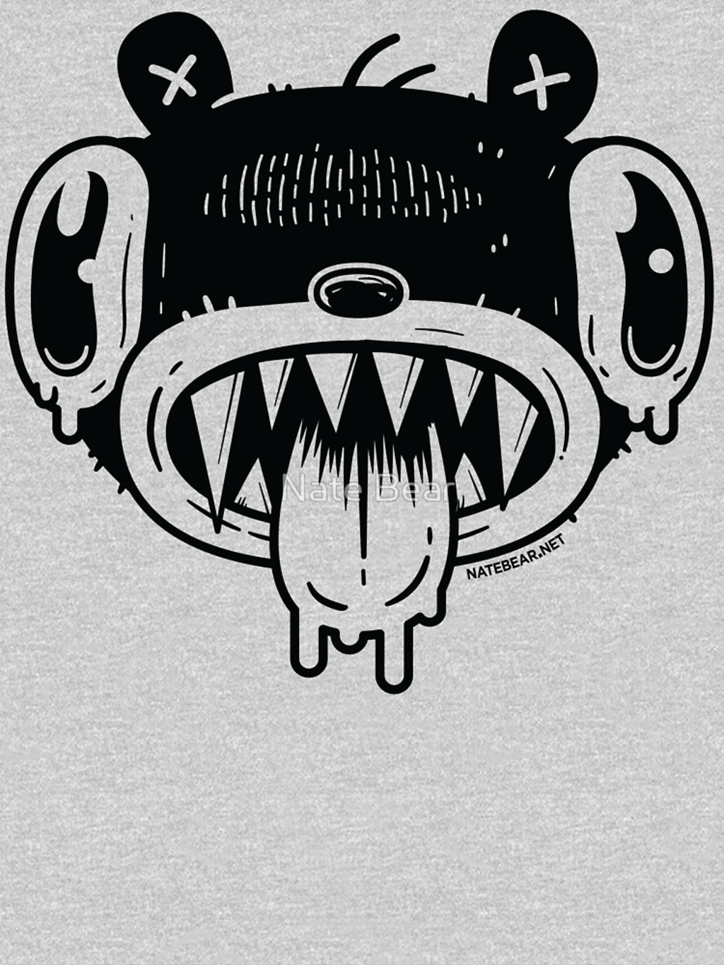 RedBubble: Noodle Bear Face