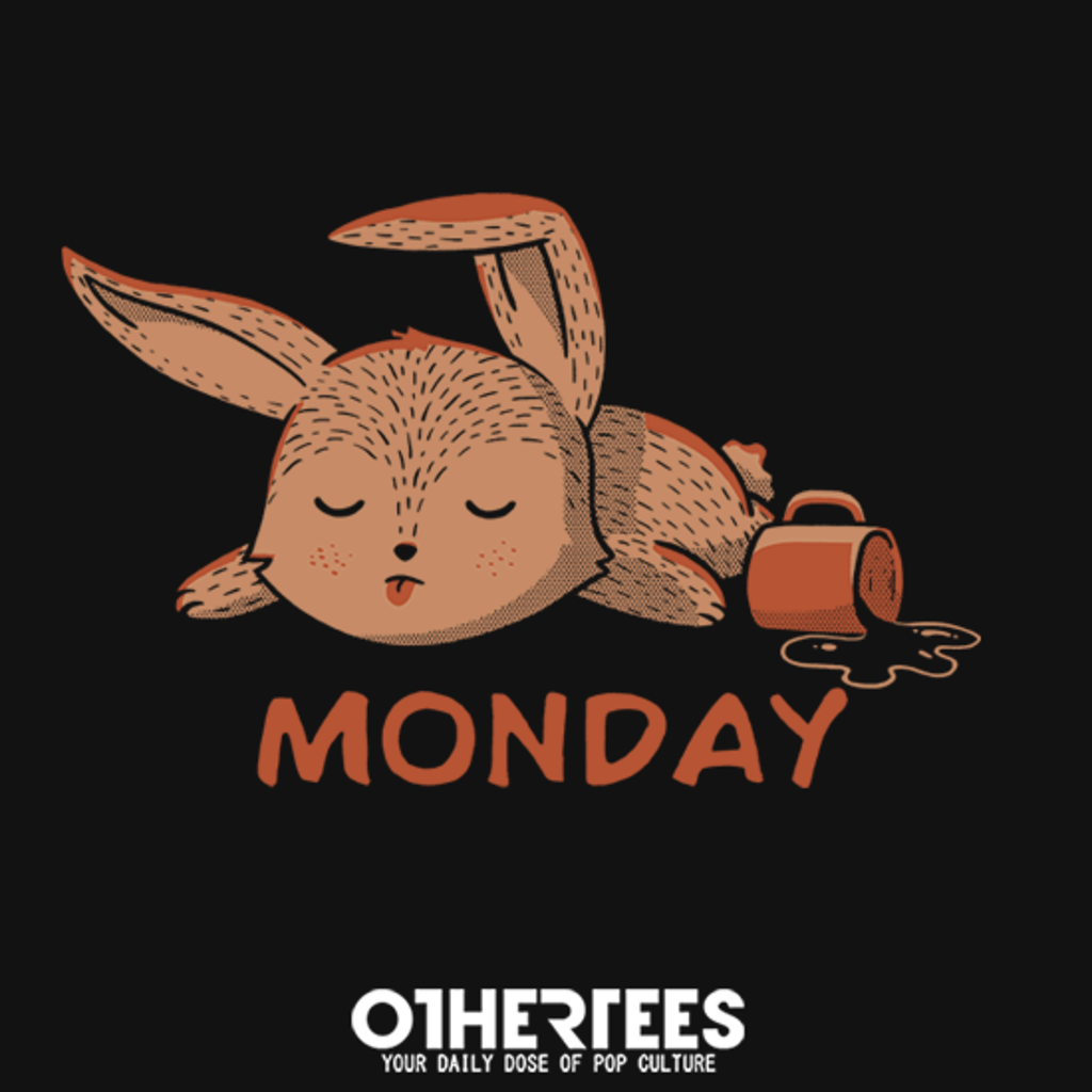 OtherTees: Monday Rabbit