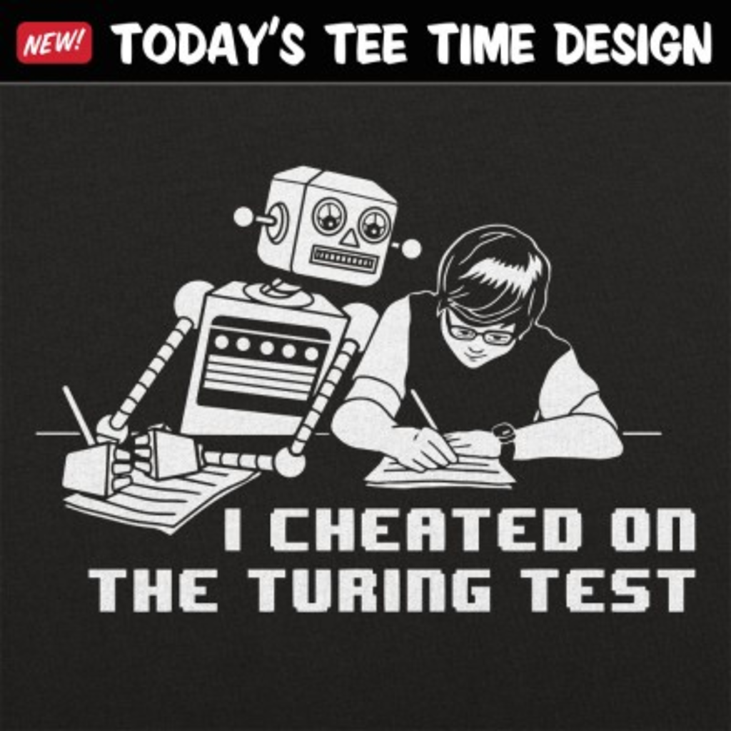 6 Dollar Shirts: I Cheated On The Turing Test