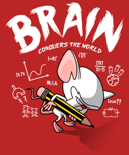 Qwertee: BrainConquersTheWorld