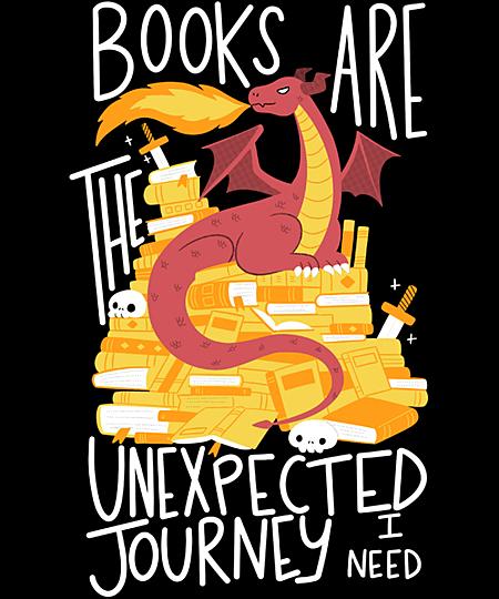 Qwertee: Book Dragon
