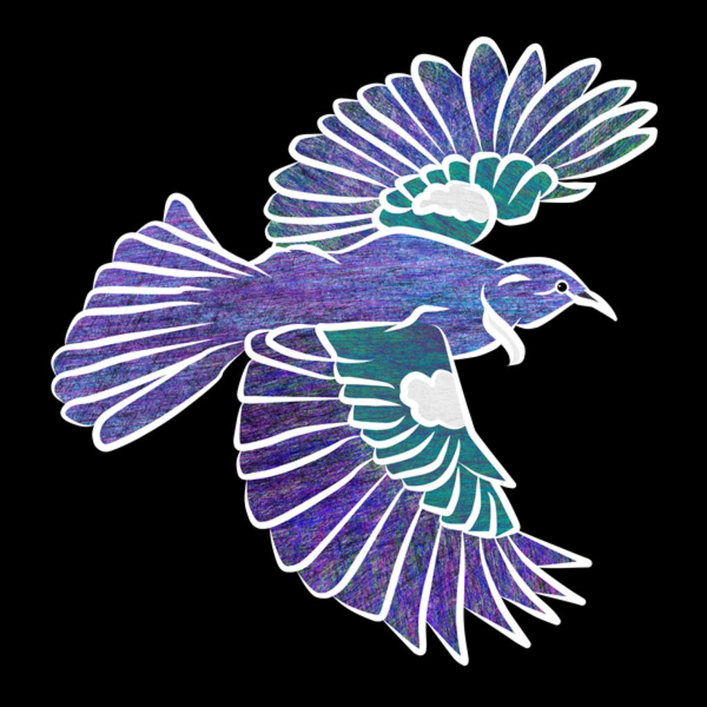 NeatoShop: Tui flying bird t-shirt