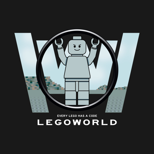 TeePublic: Legoworld
