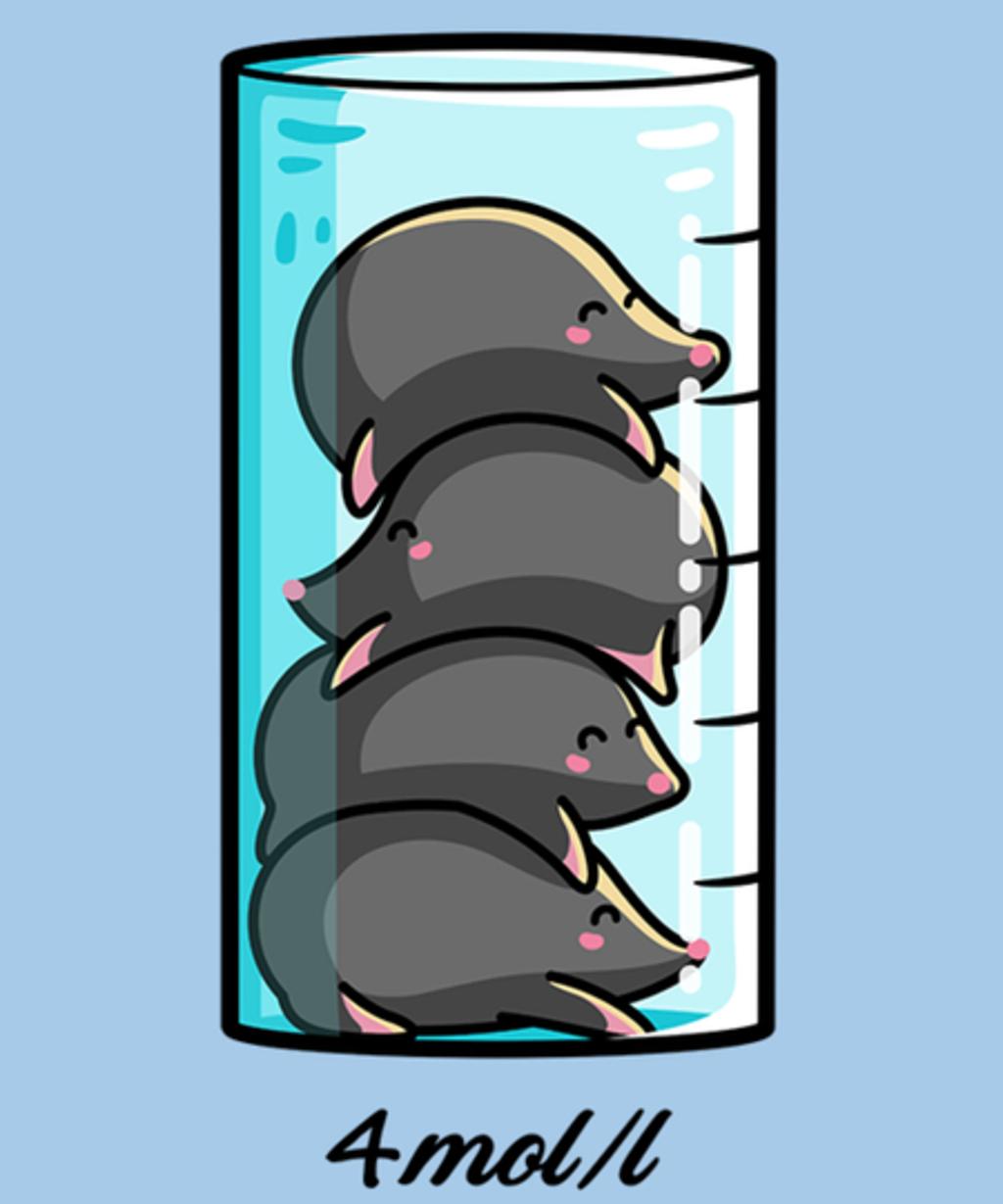 Qwertee: Moles Per Litre