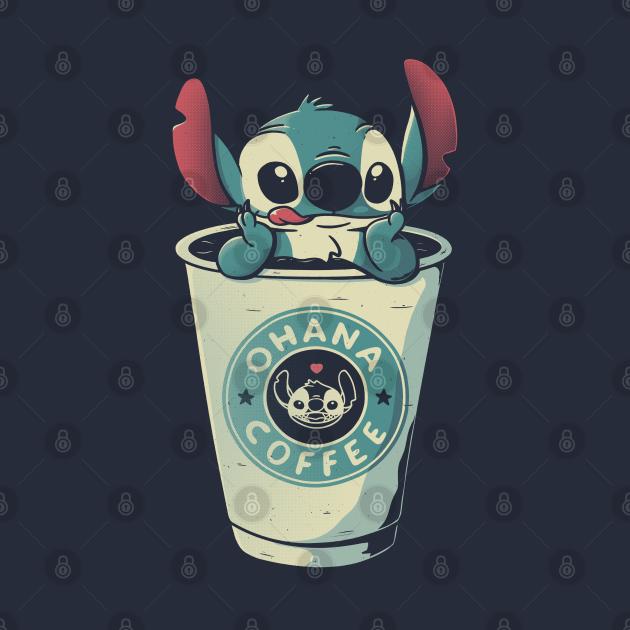 TeePublic: Ohana Coffee