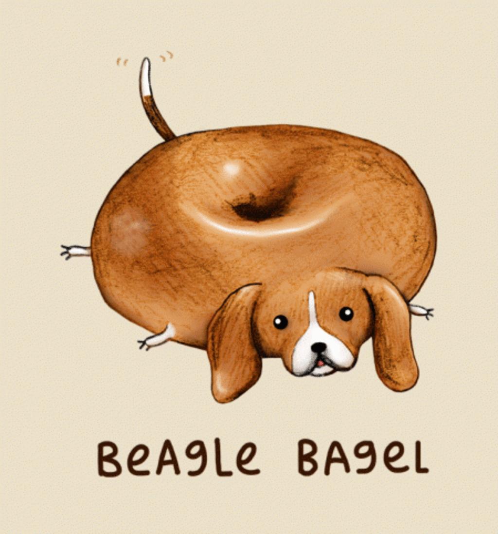 BustedTees: Beagle Bagel