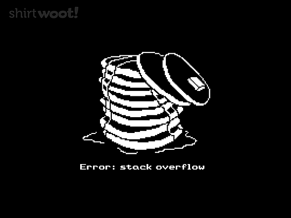 Woot!: Stack Overflow