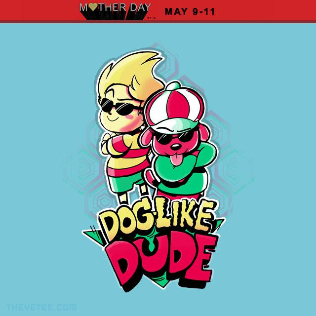 The Yetee: Dog-Like Dude