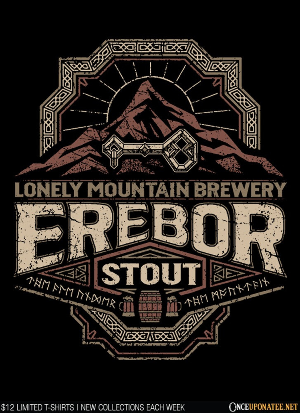 Once Upon a Tee: Erebor Stout