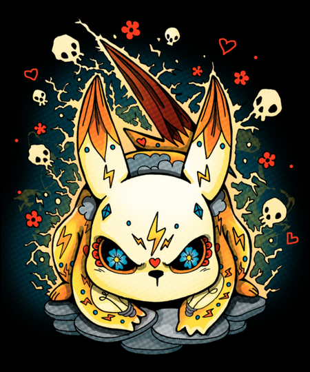 Qwertee: Electric Sweet for Halloween