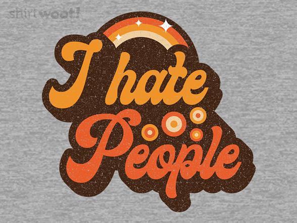 Woot!: Vintage Hate People