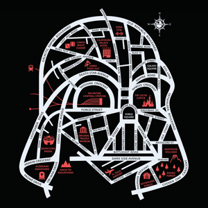 Wistitee: Darth City Map