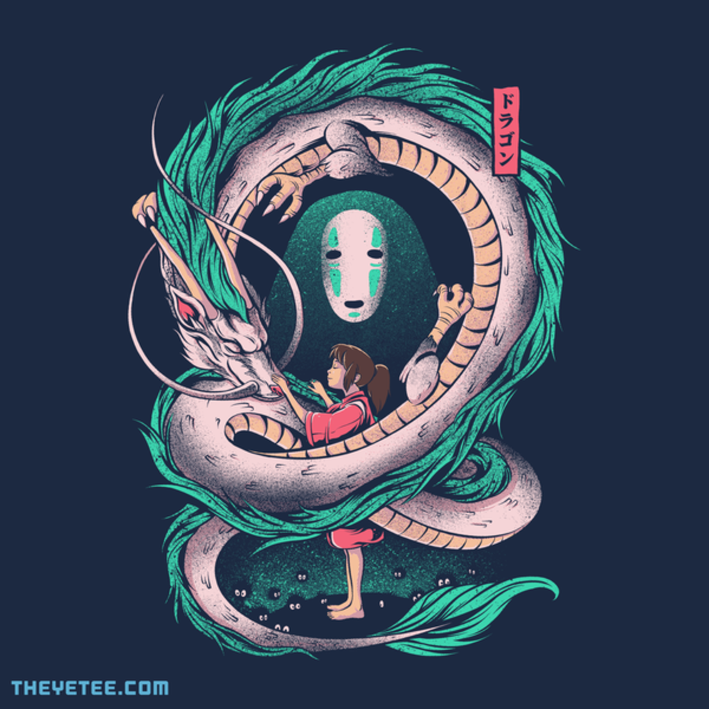 The Yetee: The Girl and the Dragon